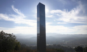 Another Mysterious Metal Monolith Pops Up in California After Finds in Utah, Romania