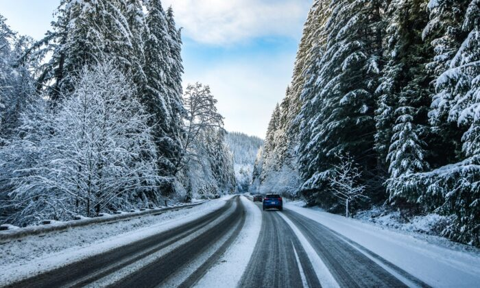 On the road during the holidays. (Stock photo by Engin Yapici)