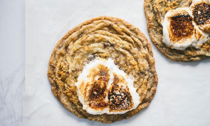 Pan-Banging S'mores Cookies