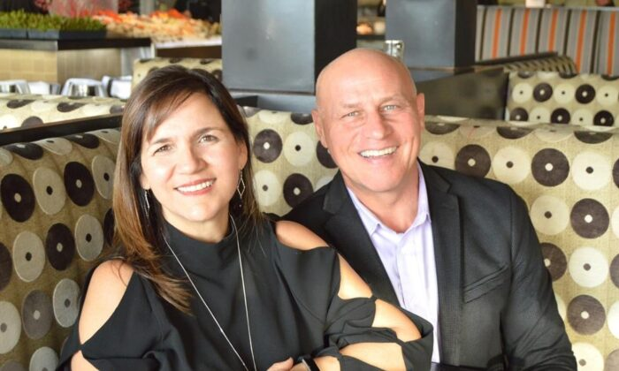 Dan and Lise-Anne Serafini at their restaurant GG's Waterfront in Hollywood, Fla. (The Canadian Press/HO-GG's Waterfront)