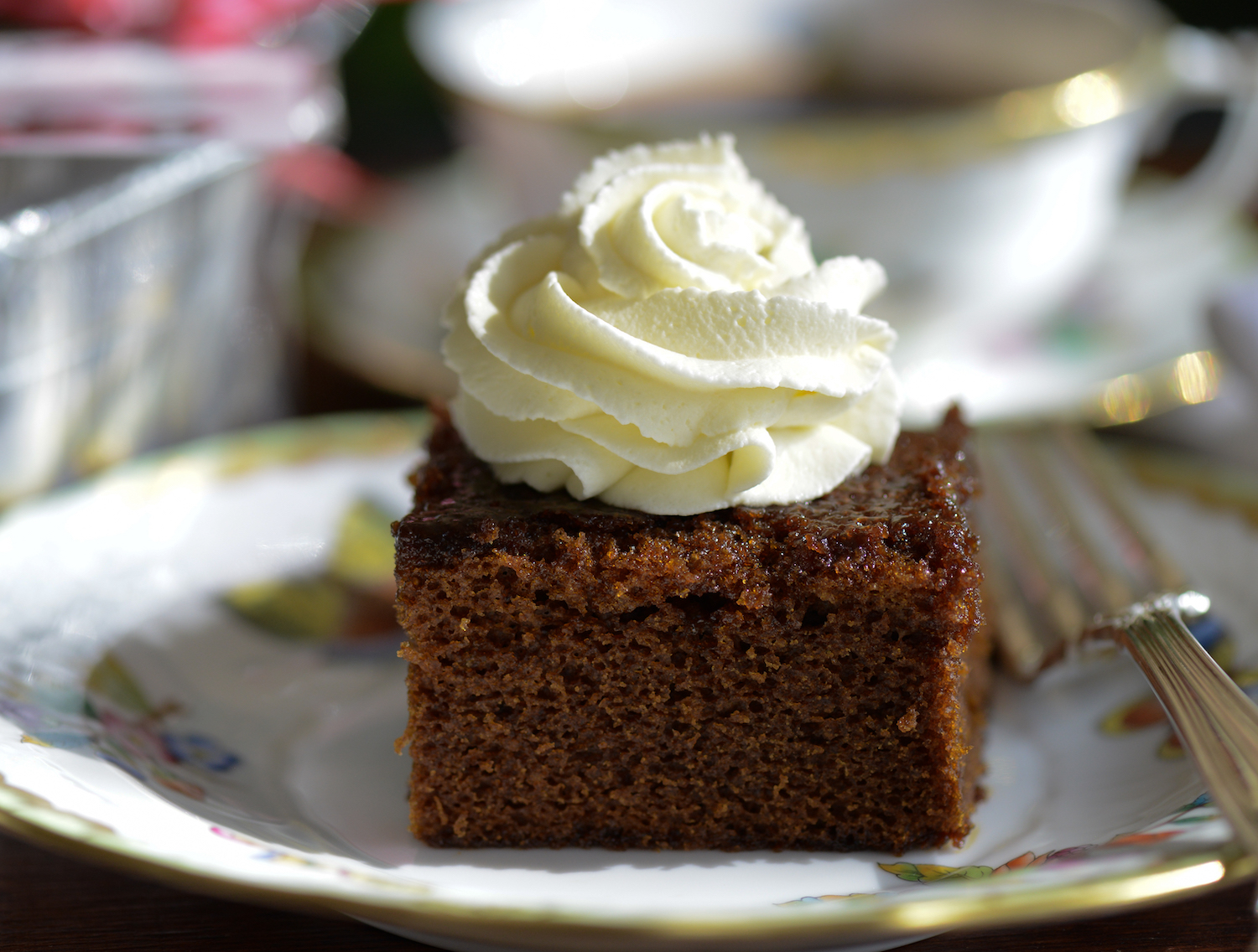 Gingerbread slice
