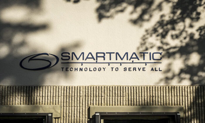 Smartmatic's office in Boca Raton, Fla., on Dec. 2, 2020. (The Epoch Times)