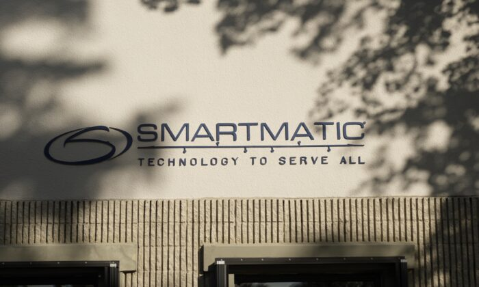 Smartmatic's headquarters located in Boca Rotan, Fla., on Dec. 2, 2020. (The Epoch Times)