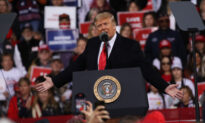 Trump Addresses Crowd at Rally in Georgia