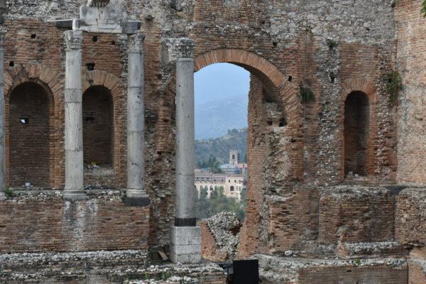 greek theater in sicily