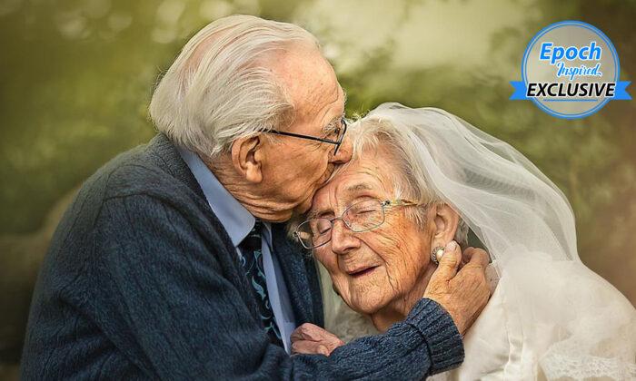 World War II Veteran Mel Hughes, 95, and his wife, Vera, 90. (Courtesy ofSujata Setia)