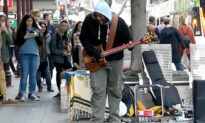 Pigeon Grooves to Busker's Tune