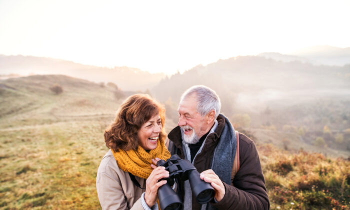 The more active seniors can be, the better. Getting outside for some fresh air and exercise is beneficial. (Halfpoint/Shutterstock)
