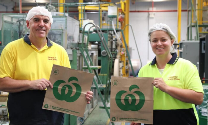 Woolworths transitions to 100 Australian-made (Supplied by Detpak)