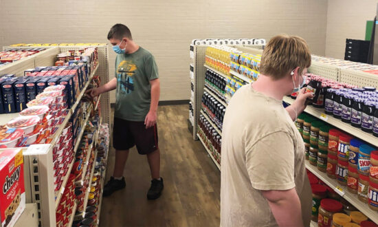 High School Opens Grocery Store for Students and Families, Accepts Good Deeds as Payment
