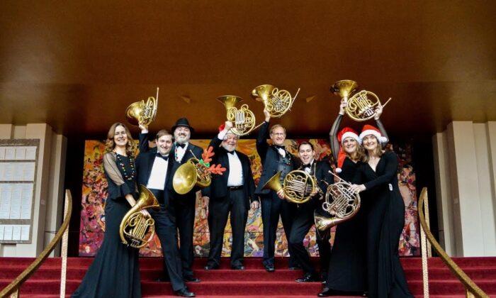 The MetOpera horns. (Miram Kim)