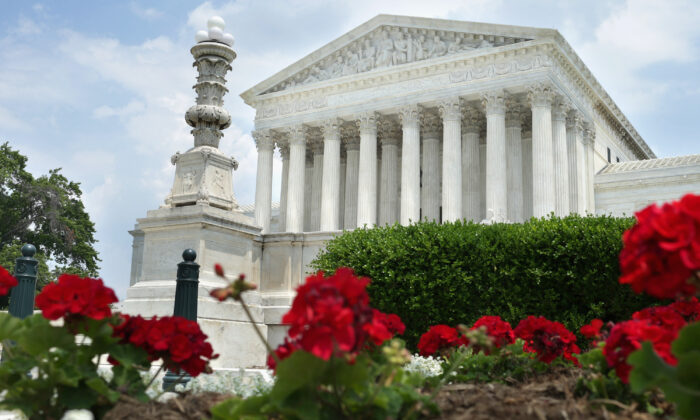 The U.S. Supreme Court is seen in Washington, D.C. on May 27, 2014. (Chip Somodevilla/Getty Images)