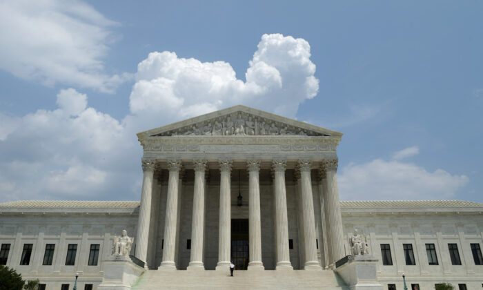The U.S. Supreme Court in Washington on May 27, 2014. (Chip Somodevilla/Getty Images)