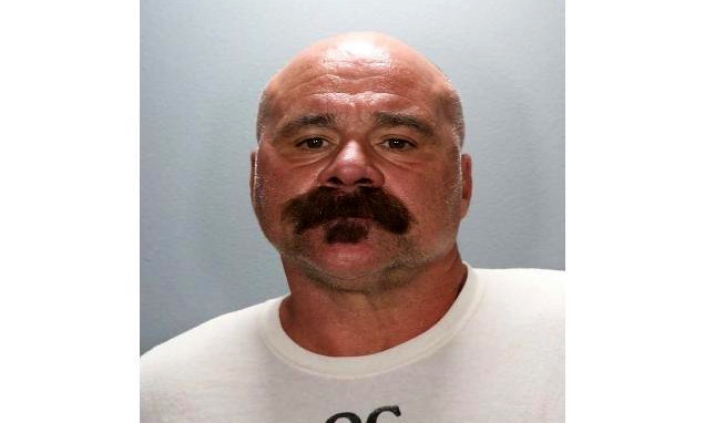 A booking photo of Richard David Lavalle, a convicted bank robber accused of driving impaired and killing a 12-year-old bicyclist in Costa Mesa, Calif. (Courtesy of the Orange County District Attorney's Office)