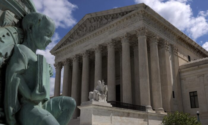The U.S. Supreme Court building in Washington, D.C., on May 12, 2020. (Alex Wong/Getty Images)