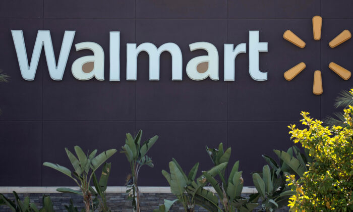 The logo of a Walmart Superstore is seen during the outbreak of the coronavirus disease (COVID-19), in Rosemead, California, U.S. on June 11, 2020. (Mario Anzuoni/Reuters/File Photo)