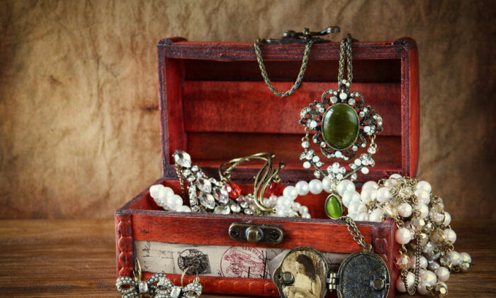Consider gifting some of the possessions you've stashed away throughout the years; they will hold a very special meaning for the recipients. (tomertu/Shutterstock)