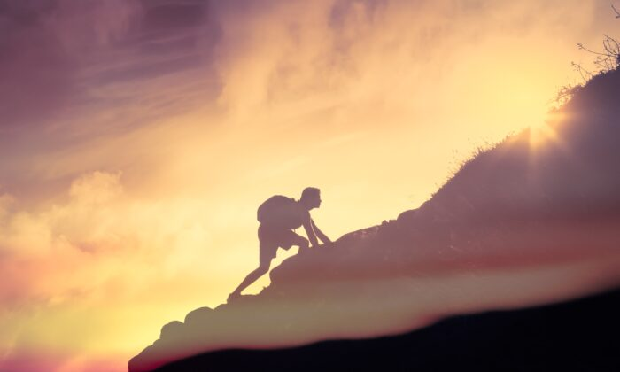 When we don't fully commit, we don't marshal the strength we have—and need— to succeed.(KieferPix/Shutterstock)