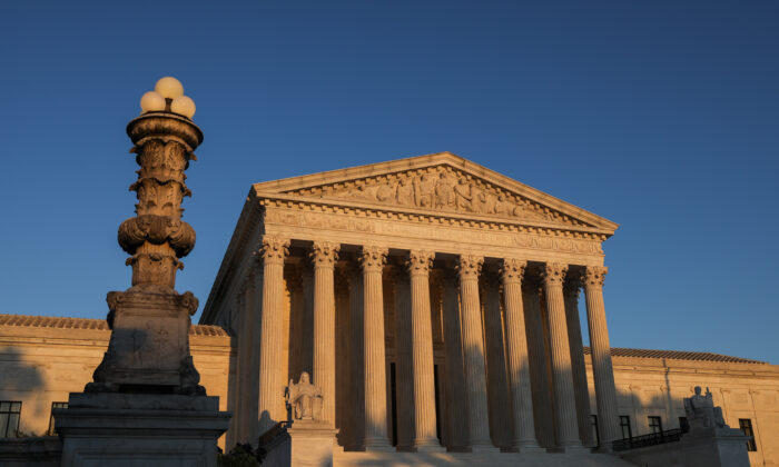 The Supreme Court in Washington on Sept. 21, 2020. (Samira Bouaou/The Epoch Times)