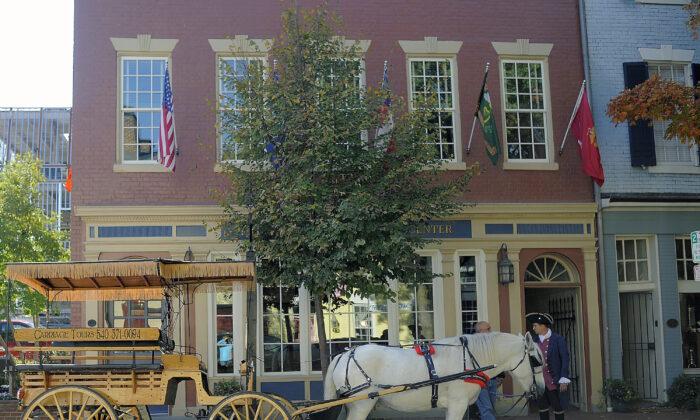 Fredericksburg's Historic District. (Courtesy of City of Fredericksburg Tourism)