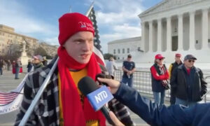 Trump Supporter at DC Rally: Supreme Court Should Uphold the Rule of Law