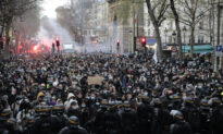 Thousands Protest Macron's Security Bill in Paris, Over 100 Arrested