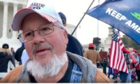 Trump Supporter at DC Rally: I'm Here to Support USA, Trump