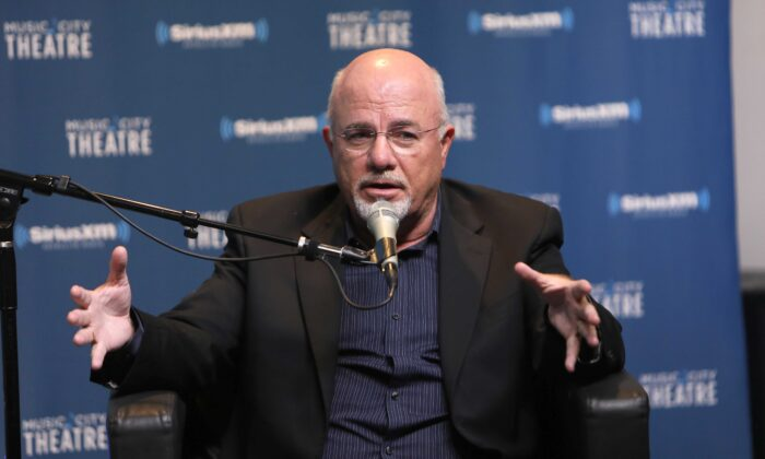 Money Expert Dave Ramsey Celebrates 25 Years on the Radio During a SiriusXM Town Hall at Sirius XM Nashville studios in Nashville, Tenn., on Aug. 22, 2017. (Anna Webber/Getty Images for SiriusXM)