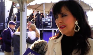Singer at Trump Rally: 'God Himself Is Going to Step In'