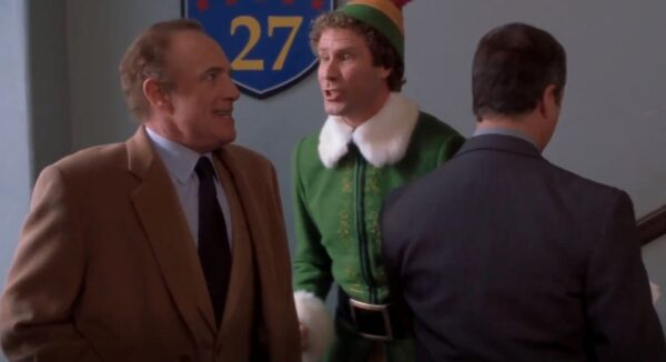 James Caan and Will Ferrell in Elf