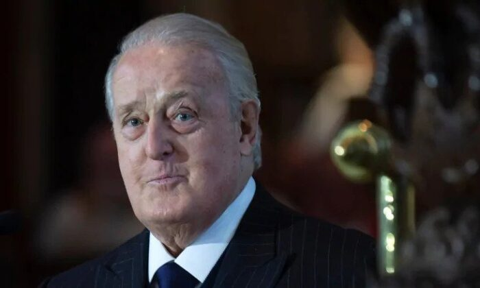 Former prime minister Brian Mulroney underwent emergency surgery on Dec. 11, but was released from hospital on Dec. 13, according to a spokesperson. (The Canadian Press/Paul Daly)