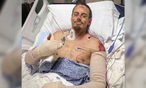 Georgia Man Saves His Whole Family From Housefire, Suffers Severe Burns to His Arms, Back