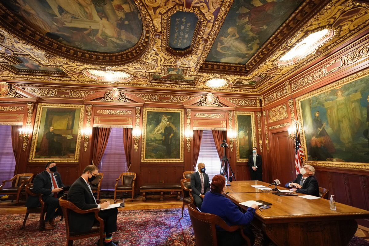 Wisconsin's Electors Cast Their Electoral College Votes