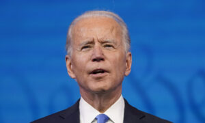Biden Declared Virus-Negative After Coughing Through Remarks