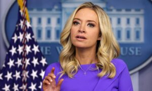 Kayleigh McEnany Leaves Letters for Biden Press Officials