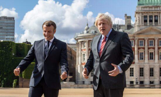 Boris Johnson Wishes Macron Speedy Recovery From CCP Virus