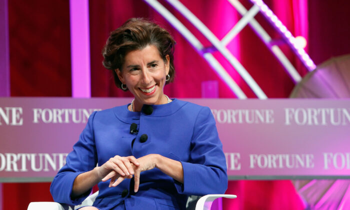 Rhode Island Gov. Gina Raimondo speaks onstage during Fortune's Most Powerful Women Summit - Day 2 at the Mandarin Oriental Hotel on Oct. 13, 2015 in Washington, DC.  (Paul Morigi/Getty Images for Fortune/Time Inc)