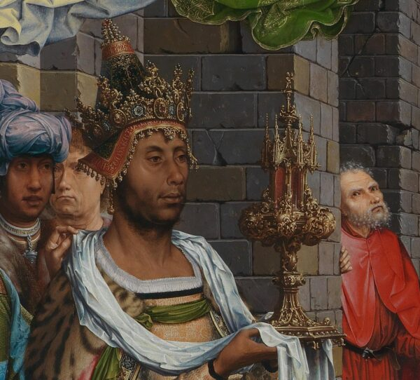 Jan_Gossaert_King with gift and Joseph