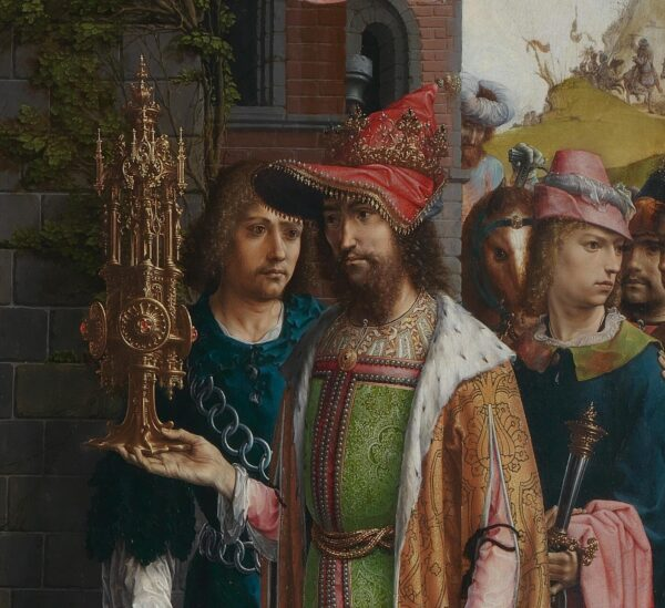 Jan_Gossaert_third king waiting