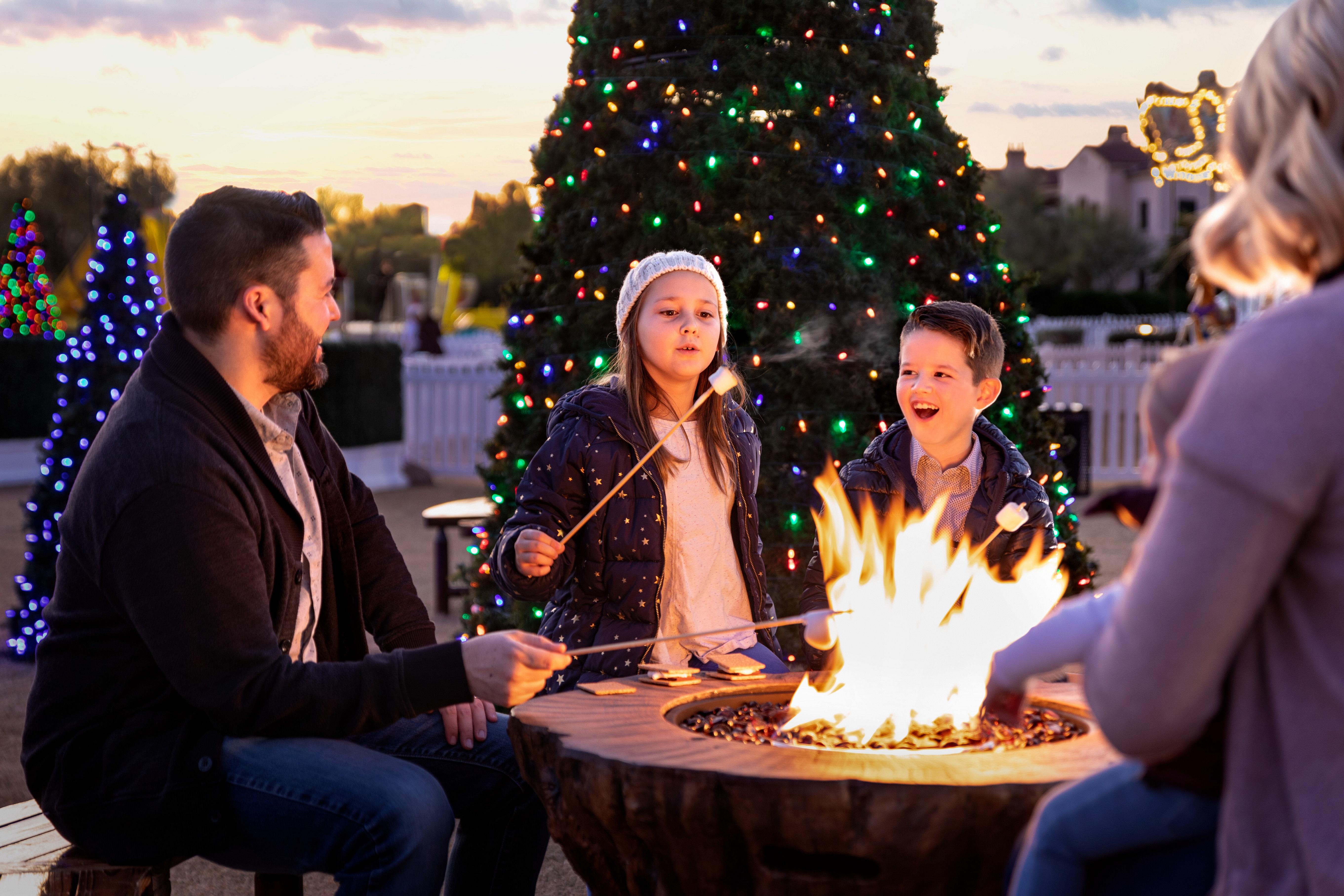 Fairmont Scottsdale Princess - Christmas Event - S'mores Land