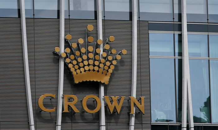 A general view of Crown Sydney is seen at Barangaroo on November 19, 2020 in Sydney, Australia. (Lisa Maree Williams/Getty Images)