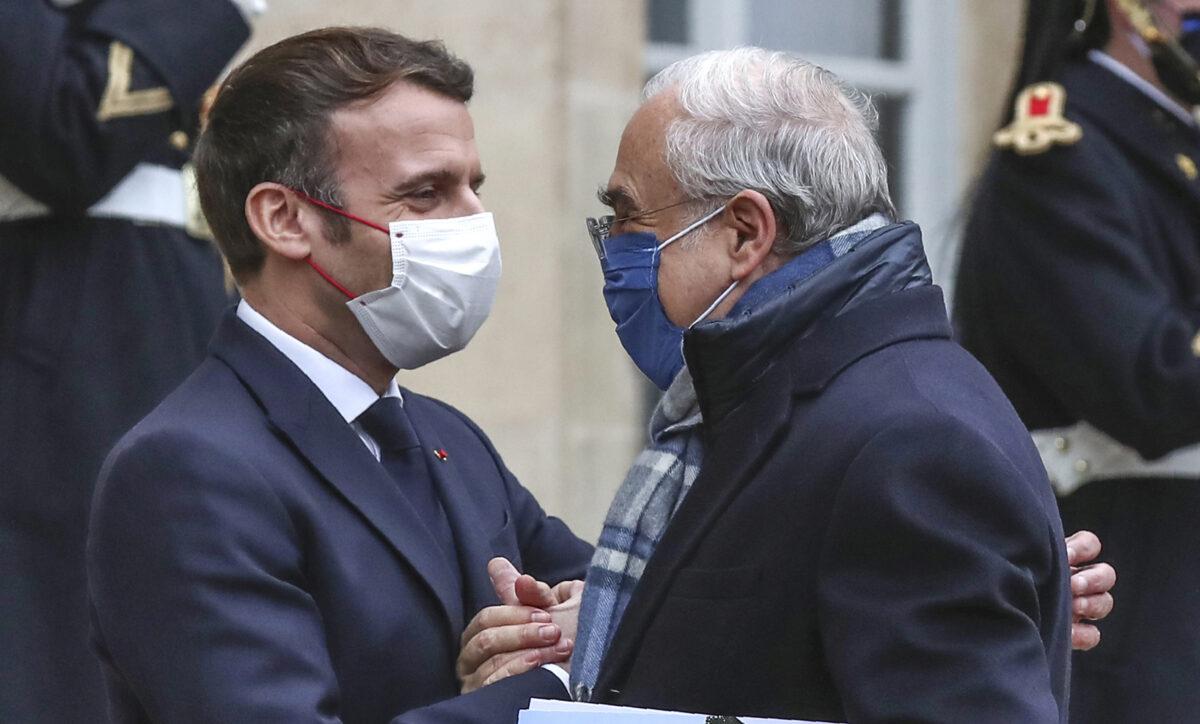 Emmanuel Macron,Angel Gurria