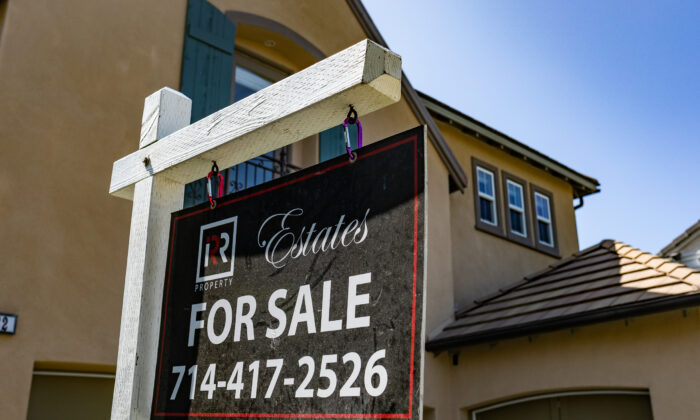 Homes await buyers in the city of Irvine, Calif., on Sept. 21, 2020. (John Fredricks/The Epoch Times)