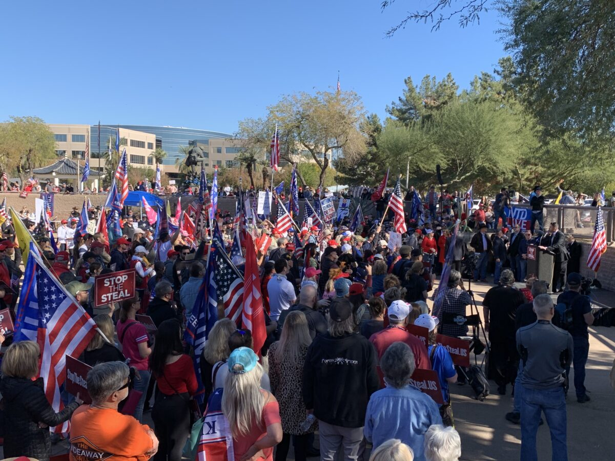 Stop the Steal rally in Arizona