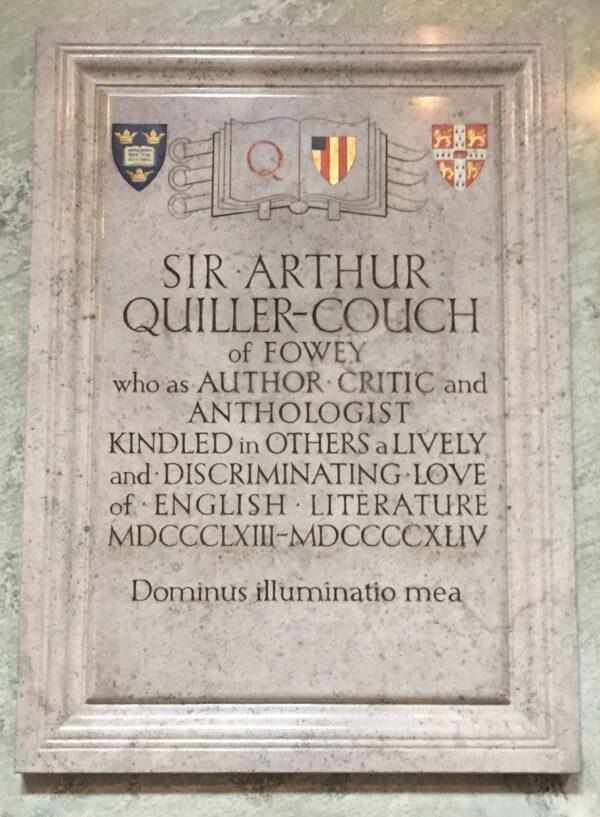 Sir Arthur Quiller-Couch