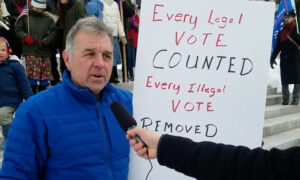Pennsylvania Voter: 'Our Country Has Been Bought and Paid For'