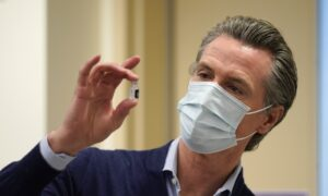 Newsom Says Just One Percent of Californians Vaccinated: 'It's Gone Too Slowly'