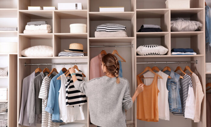 When you're getting organized, take it one thing at a time: one drawer, one closet, or one room. (New Africa/Shutterstock)