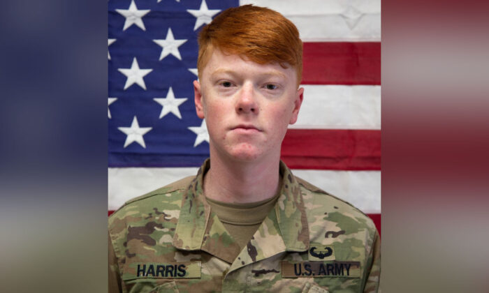 Fort Drum military base soldier Cpl. Hayden Allen Harris in a file photo. (Courtesy of U.S. Army)