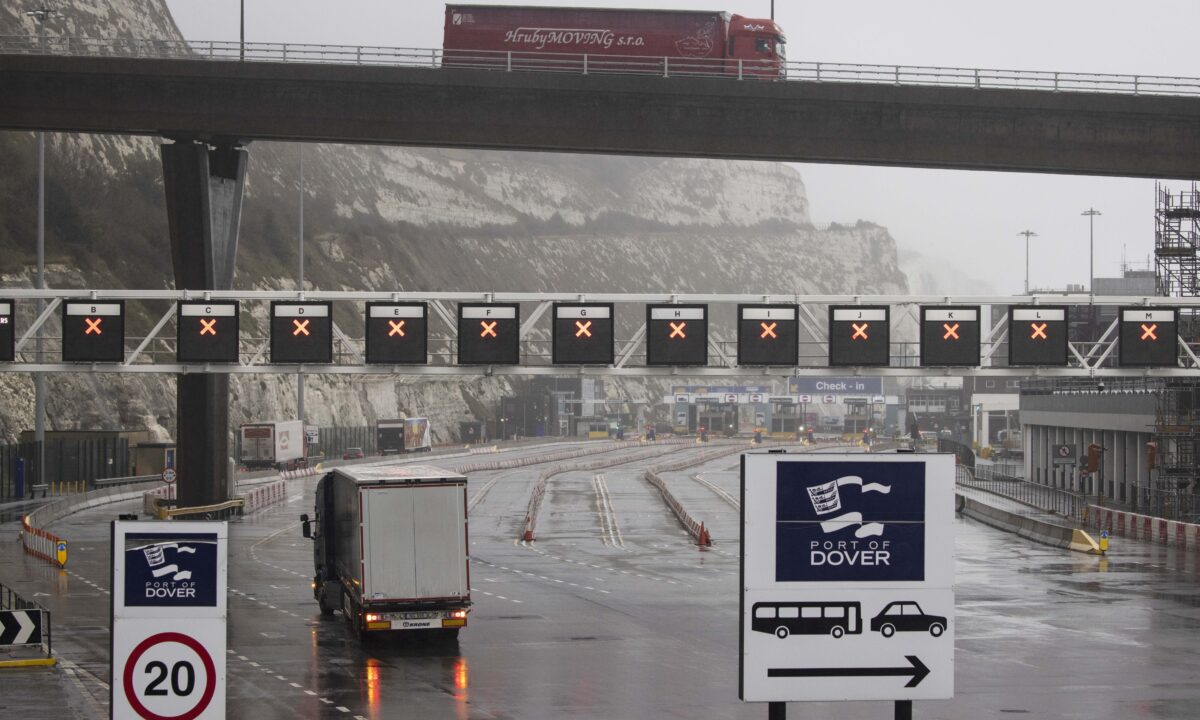 Dover Port Closed